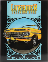 Dokument Press - Lowrider Coloring Book - - - OneSize