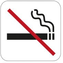 Symbol Habo No Smoking