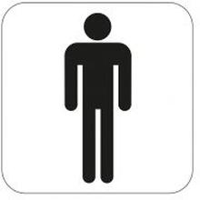 Symbol Habo WC Herrer