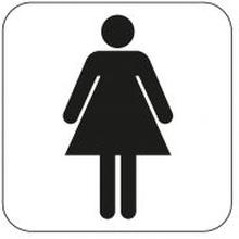 Symbol Habo WC Damer
