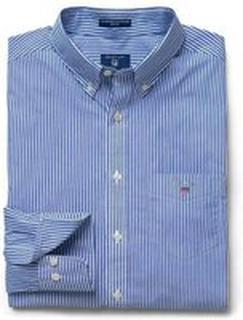 Blå Gant Broadcloth Banker Skjorte Skjorte