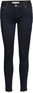 Victoria 7/8 Silk Touch Jeans Skinny Jeans Blå MOS MOSH