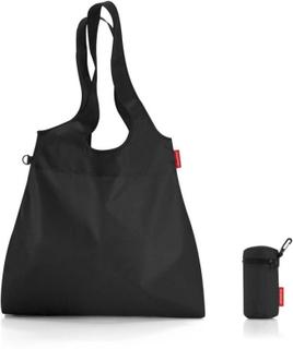 2 st. Mini maxi shopper L svart