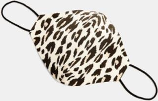 Topshop - Stofmundbind i leopardprint-Brun