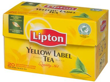 Lipton Lipton Tea Yellow Label 25-pack 5000311511207 Replace: N/ALipton Lipton Tea Yellow Label 25-pack