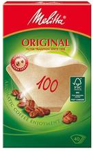 Melitta Melitta Kaffefilter 100 oblekta 40-p 4006508126033 Replace: N/AMelitta Melitta Kaffefilter 100 oblekta 40-p