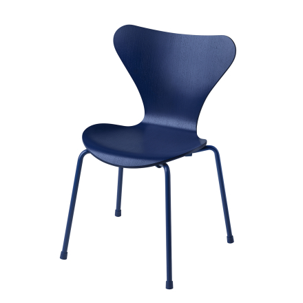 Fritz Hansen - Series 7 Children's Chair, Ai Blue