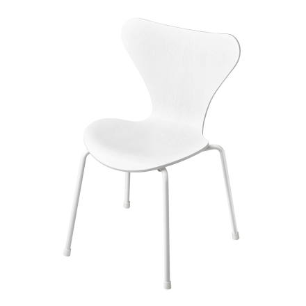 Fritz Hansen - Series 7 Children's Chair, White