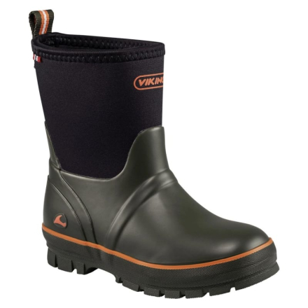 Viking Footwear Solan Neo Barn Gummistövlar Grön UK 11/EU 29
