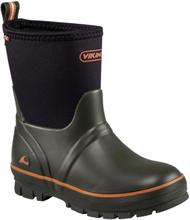 Viking Footwear Kid's Solan Neo Barn Gummistövlar Grön EU 29