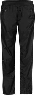 Marmot Wm's Precip Full Zip Pant Dame regnbukser Sort XS Regular