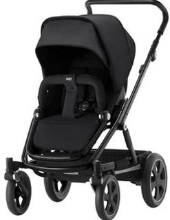 Britax GO BIG² Barnvagn Cosmos Black/Svart Chassi Go Big Cosmos Black Stroller