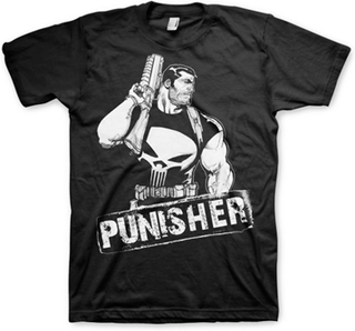 The Punisher Character T-Shirt, Basic Tee