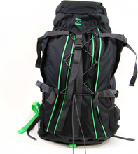 Zandstra Skate Backpack friluftsryggsekker Sort OneSize