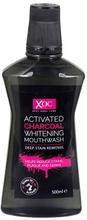 XOC Activated Charcoal Whitening Mouthwash 500 ml