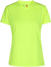 Newline Base Cool women Tee Dame Kortermede treningstrøyer Gul XS