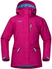 Bergans Alme Insulated Youth Girl Jacket Barn skijakker fôrede Rosa 128