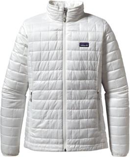 Patagonia Women's Nano Puff Jacket Dame syntetjakker mellomlag Hvit XS