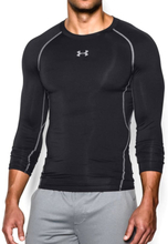 Under Armour Ua Hg Armour Ls Herre langermede treningstrøyer Sort XL