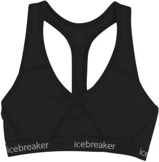 Icebreaker Women's Sprite Racerback Bra Dame undertøy Sort M