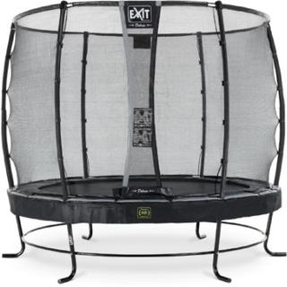 EXIT Trampolin Elegant Premium diameter 305cm med Deluxe sikkerhedsnet - sort