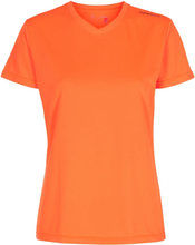 Newline Base Cool women Tee Dame Kortermede treningstrøyer Oransje XS