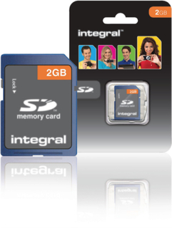 Integral Integrerad 2gb Secure Digital kort