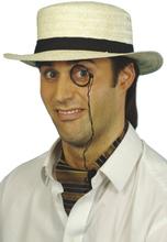 Strå hatt - krem