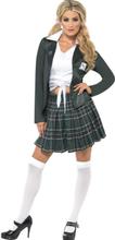 Preppy Skolepike kostyme