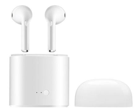 Apple-kompatible trådløse hodetelefoner med ladeetui