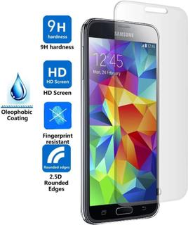 Displayskydd i härdat glas till Samsung S5 Mini