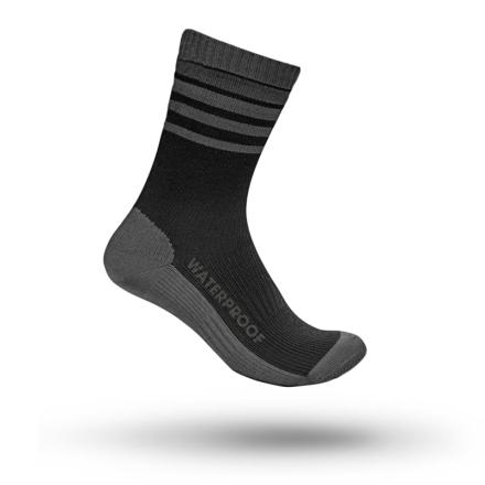GripGrab Waterproof Merino Thermal Sock Unisex Träningsstrumpor Svart 39-41