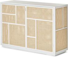 Design House Stockholm - Air Sideboard, Hvit/Rotting