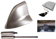 Shark Fin Antenn borstad Aluminium