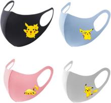 NEW Pikachu Pokemon Mask Washable Dust-Proof Pocket Pikachu Masks Christmas Gitfs Birthday Party Dress up Costume Cosplay Masks