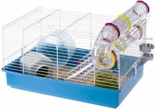 Ferplast hamsterbur Paula blå 46 x 29,5 x 24,5 cm 57906411