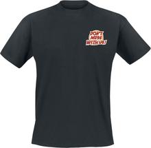 Unfair Athletics - Cartoon -T-skjorte - svart