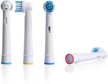 Oral-B-yhteensopivat hammasharjapäät - 4 kpl
