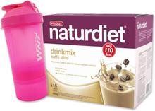 Drinkmix Caffe Latte 495g + Shaker - 68% rabatt