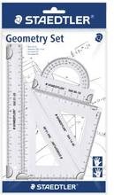 STAEDTLER Geometriset i 4 delar, transparent 569PB40 Replace: N/ASTAEDTLER Geometriset i 4 delar, transparent