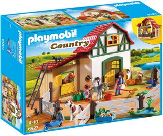 Bondgård, Ponnygård - Playmobil