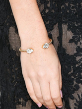 Caroline Svedbom Mini drop bracelet Crystal