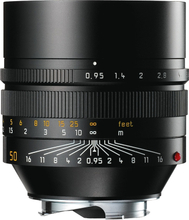 Leica M 50/0,95 Noctilux ASPH. Svart (11602), Leica