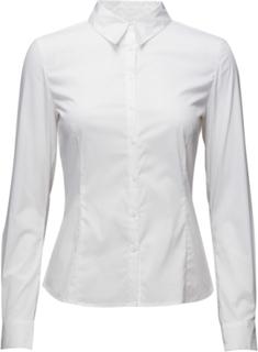 Verla Langærmet Skjorte Hvid InWear
