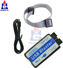 USB Blaster Mini USB Cable 10-Pin JTAG Connection Cable for CPLD FPGA NIOS JTAG Programmer Support All ATLERA Device