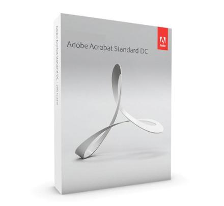 Adobe Acrobat Standard 2017 - (Windows)