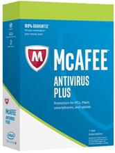 McAfee Antivirus Plus 2019 - 1 enhet
