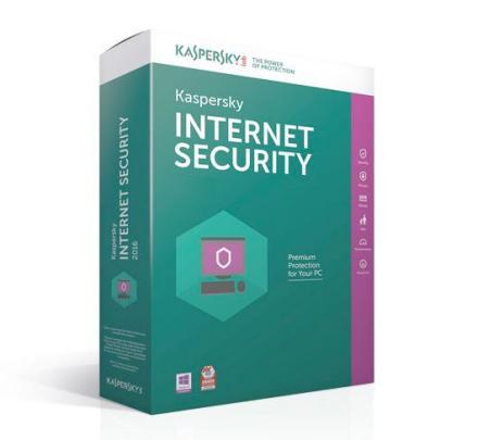 Kaspersky Internet Security 2019 - 1 PC / 1 år