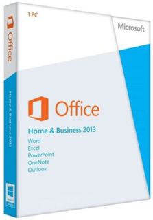 Microsoft Office 2013 Home and Business - (Windows)