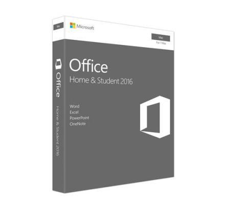 Microsoft Office Home & Student for Mac 2016 - (Macintosh)